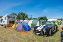 Camping area at the circuit