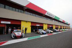 Porsche 911 GT3 Cup sulla pitlane