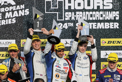 Winners James Allen, Gustavo Yacaman, Richard Bradley, Graff Racing