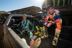 Arminas Jasikonis, Tony Cairoli e Jeffrey Herlings