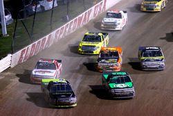 Austin Cindric, Brad Keselowski Racing Ford, John Hunter Nemechek, SWM-NEMCO Motorsports Chevrolet