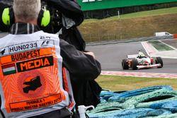 Cameraman, Zsolt Baumgartner, F1 Experiences 2-Seater driver