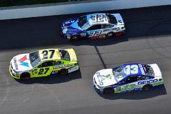 Paul Menard, Richard Childress Racing Chevrolet, Ty Dillon, Germain Racing Chevrolet, Matt DiBenedetto, Go Fas Racing Ford