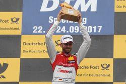 Il vincitore della gara René Rast, Audi Sport Team Rosberg, Audi RS 5 DTM
