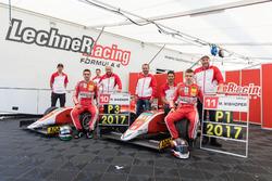 Rookie Meister Mick Wishofer, Lechner Racing und Richard Wagner, Lechner Racing