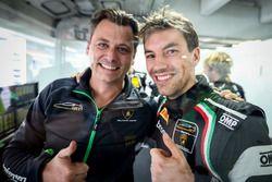 #63 GRT Grasser Racing Team, Lamborghini Huracán GT3: Christian Engelhart mit Gottfried Grasser, Gra