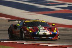 Экипаж №71 команды AF Corse, Ferrari 488 GTE: Давиде Ригон, Сэм Бёрд