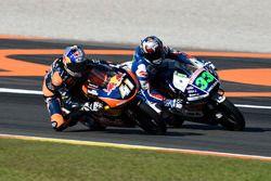 Brad Binder, Red Bull KTM Ajo, KTM; Enea Bastianini, Gresini Racing Moto3, Honda