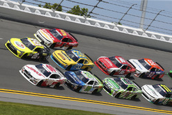 Cole Custer, Stewart-Haas Racing Ford Scott Lagasse Jr., JGL Racing Toyota Erik Jones, Joe Gibbs Rac