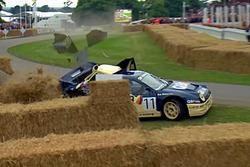 Ford RS200 Evolution 2, crash