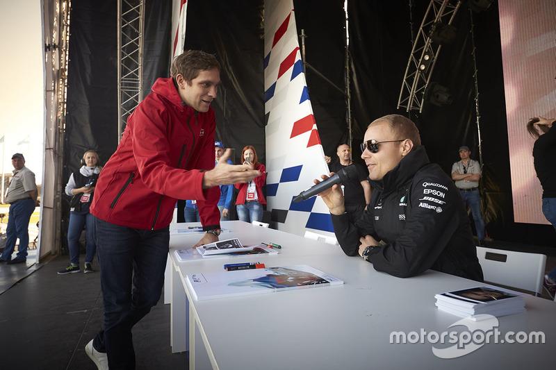 Valtteri Bottas, Mercedes AMG F1, Vitaly Petrov