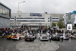 Timo Glock, BMW Team RMG; Augusto Farfus, BMW Team RMG; Marco Wittmann, BMW Team RMG; Tom Blomqvist,