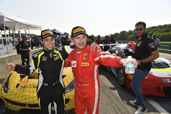 Yarış galibi Daniel Mancinelli, Andrea Montermini, TR3 Racing