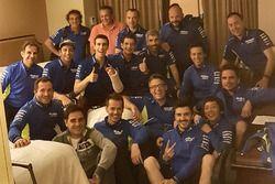 Alex Rins, Team Suzuki MotoGP, mit dem Team