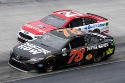 Martin Truex Jr., Furniture Row Racing Toyota Ryan Blaney, Wood Brothers Racing Ford