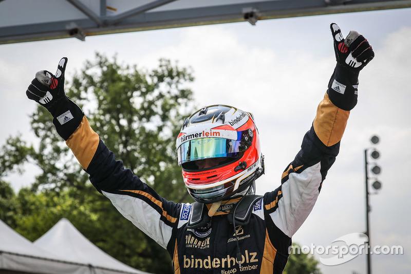 Le vainqueur René Binder, Lotus