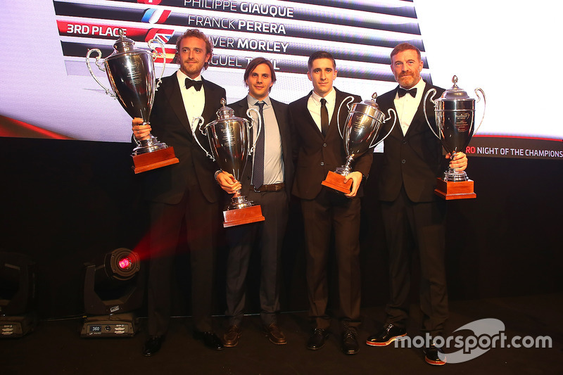 2016 Endurance Cup Pro-AM Cup Drivers, Alessandro Bonacini, Andrea Rizzoli, champions, Oliver Morley, Miguel Toril, 3rd place