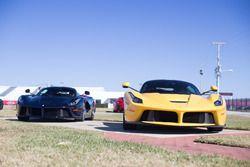 A pair of Ferrari LaFerrari