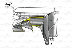 Ferrari F2002 diffuser