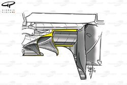 Diffuseur de la Ferrari F2002