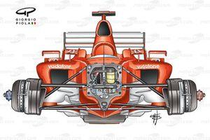Ferrari F2003-GA front view