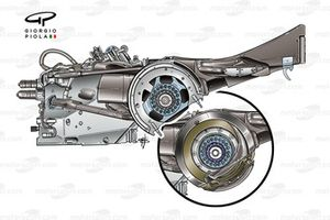Williams FW28 2006 gearbox