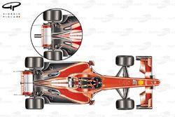 Задняя часть Ferrari F60 (660)