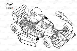Williams FW13B 1990 overview