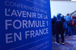 Pressekonferenz zum Comeback des GP Frankreich