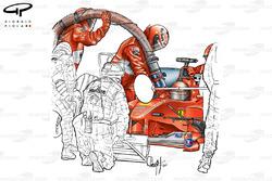 Détails des ravitaillements de la Ferrari F1-2000 (651)
