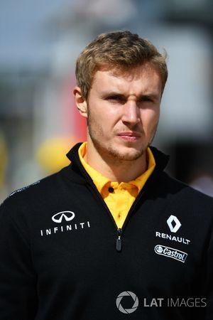 Sergey Sirotkin, testrijder Renault Sport F1 Team