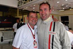 Paul Stoddart, amd F1 Experiences 2-Seater passagier