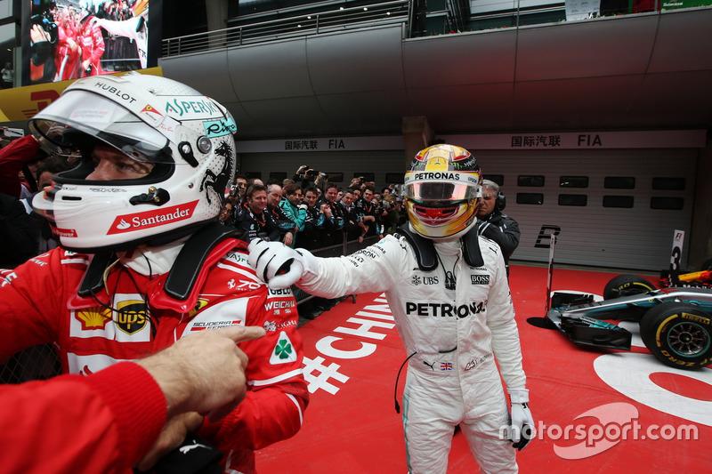 Lewis Hamilton, Mercedes AMG, Sebastian Vettel, Ferrari