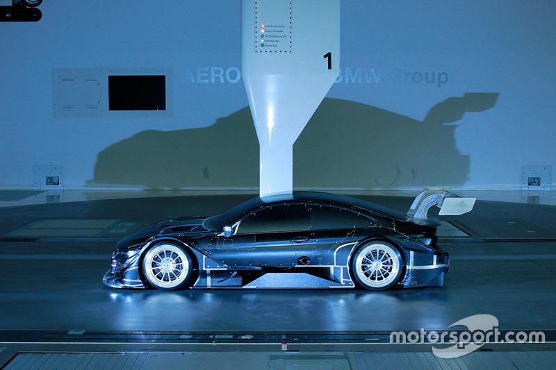 DTM de BMW M4 en el túnel de viento