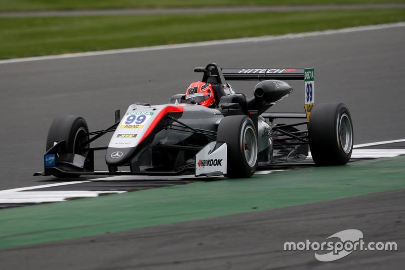 Никита Мазепин, Hitech Grand Prix, Европейский чемпионат Формула 3