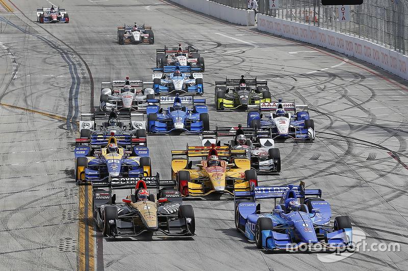 IndyCar Los pilotos y coches de las 500 Millas