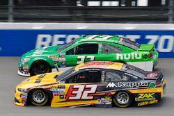 Matt DiBenedetto, Go Fas Racing Ford, Jeffrey Earnhardt, Circle Sport – The Motorsports Group Chevrolet