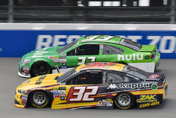 Matt DiBenedetto, Go Fas Racing Ford, Jeffrey Earnhardt, Circle Sport – The Motorsports Group Chevro
