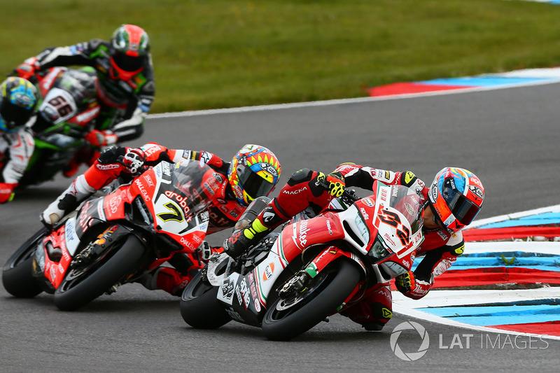 Lorenzo Savadori, Milwaukee Aprilia, Chaz Davies, Ducati Team