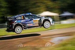 Отт Тянак и Мартин Ярвеоя, Ford Fiesta WRC, M-Sport