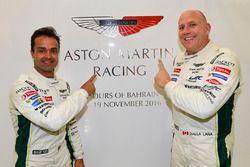 LMGTE Am Polesitters: #98 Aston Martin Racing Aston Martin Vantage GTE: Paul Dalla Lana, Pedro Lamy,