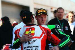 SSP300 Yarış galibi Scott Deroue, MTM HS Kawasaki, 3. Mika Perez, WILSport Racedays