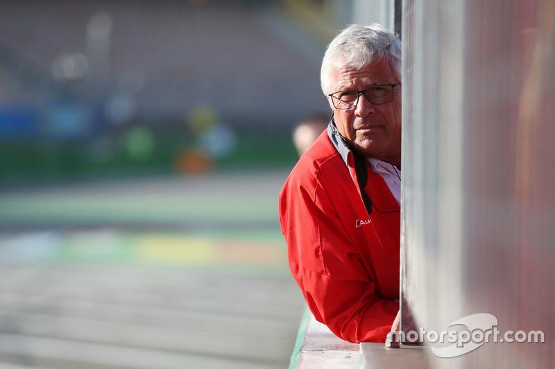 Arno Zensen, Team mangaer, Audi Sport Team Rosberg