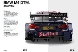 Vista trasera del BMW M4 DTM