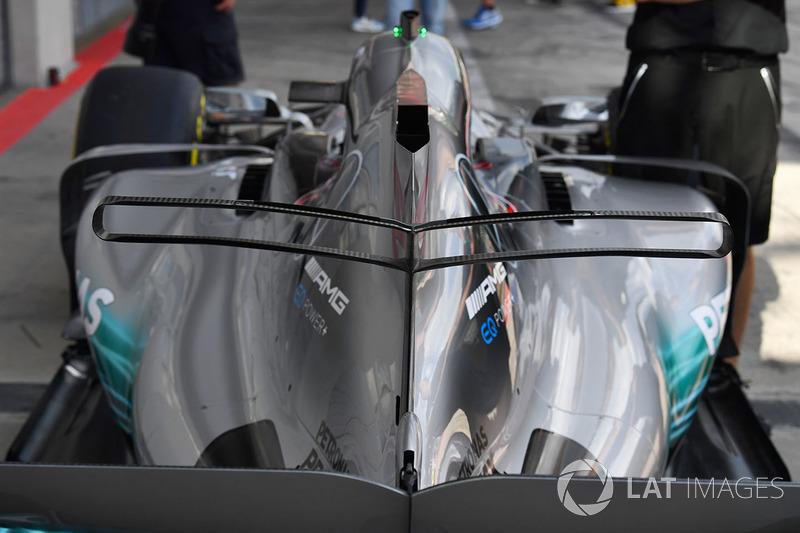 Mercedes AMG F1 F1 W08: T-Flügel