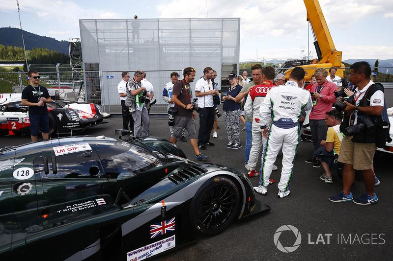 Guy Smith, Tom Kristensen, Bentley Speed 8 LMP1