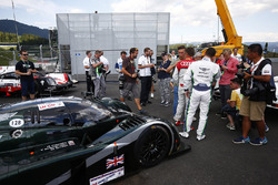 Guy Smith, Tom Kristensen e la Bentley Speed 8 LMP1 che hanno condotto alla vittoria a Le Mans nel 2