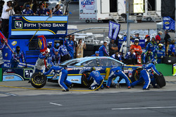 Ricky Stenhouse Jr., Roush Fenway Racing Ford pit stop