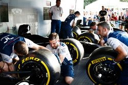 De Pit Stop Challenge in het F1 fan village