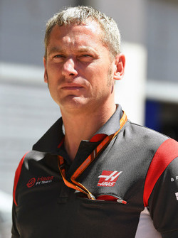 Stuart Cramp, Capo meccanico Haas F1 Team